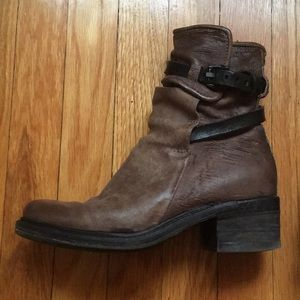 A.S. 98 Nettle Boots in Taupe Brown 38